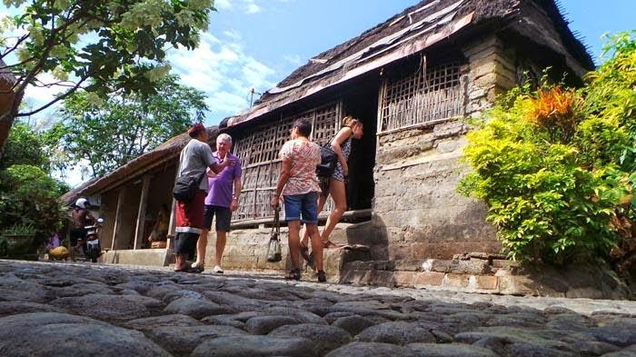 Dapur rumah tradisional bali di batuan