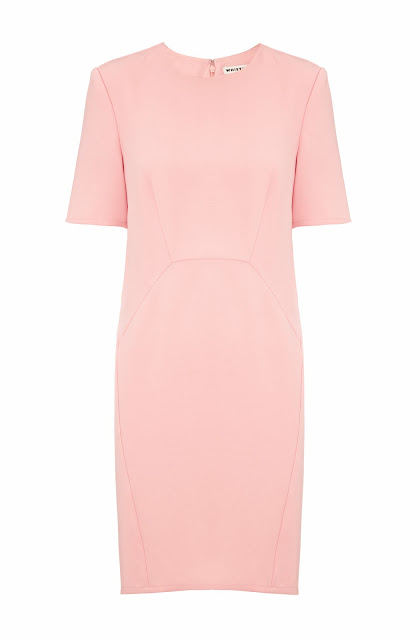 whistles pink dress