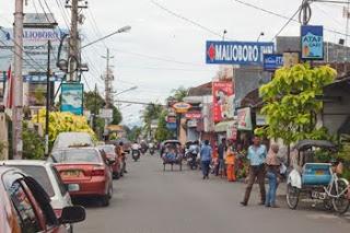 Malioboro, the main street in Yogyakarta