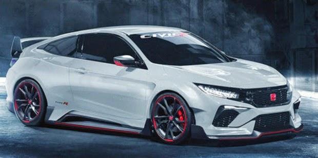 Penampakan Honda Civic Type-R Dengan Style Sport