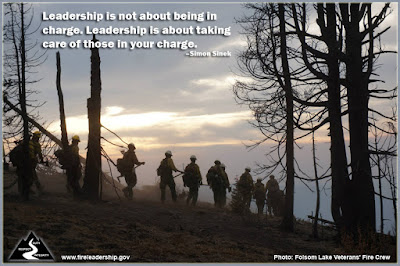 Leadership is not about being in charge. Leadership is about taking care of those in your charge. –Simon Sinek
