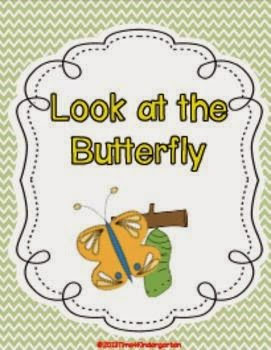 butterfly activities for kindergarten, sequencing
