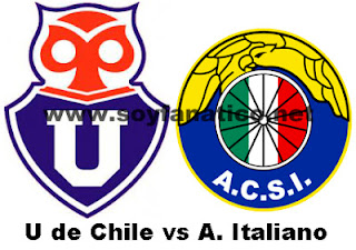 U de Chile vs Audax Italiano 2015
