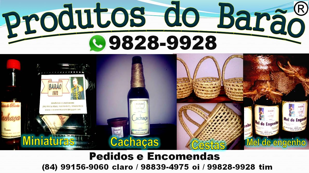 PRODUTOS DO BARÃO