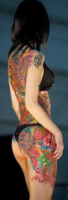 Yuzen Yakuza Tattoo Girls