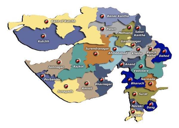 Tourist Places Gujarat Information  Gujarat Map  Gujarat University