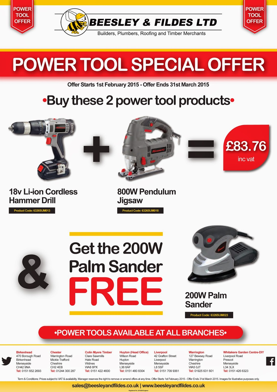 Power Tool Promo Pack 1