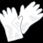 使い捨て手袋のイラスト
