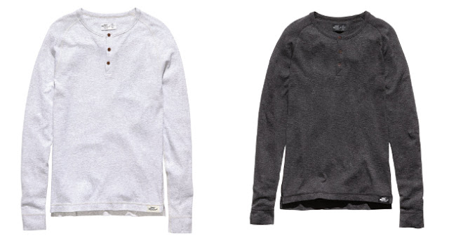 camisetas gris oscuro y gris claro