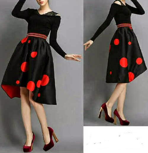 dress wanita spandek