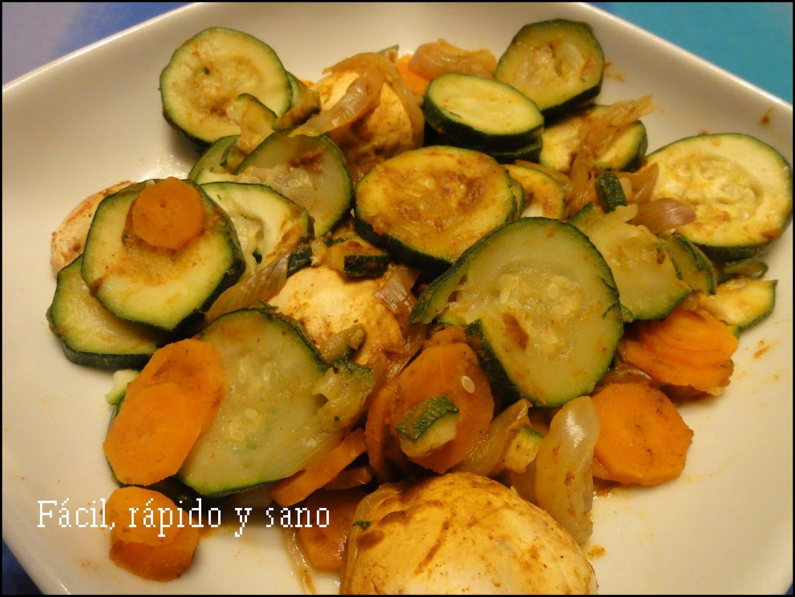F cil r pido y sano cocina para gente sin tiempo comida for Platos faciles de cocinar