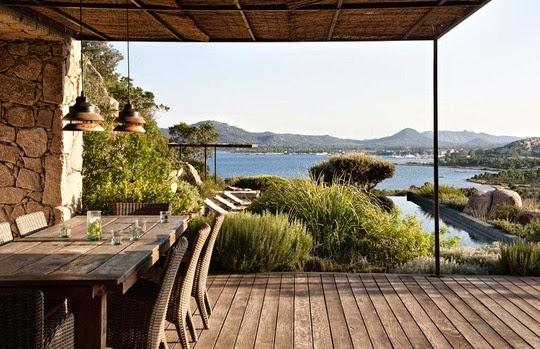 Une maison de vacances comme on en r ve - Maison bois en corse ...