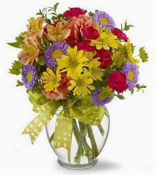 Sunny flower arrangement