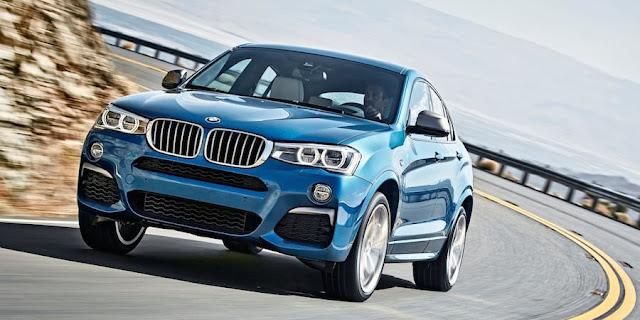 BMW X4 M40i  BMW X4に高性能なMパフォーマンスモデル「M40i」が登場。