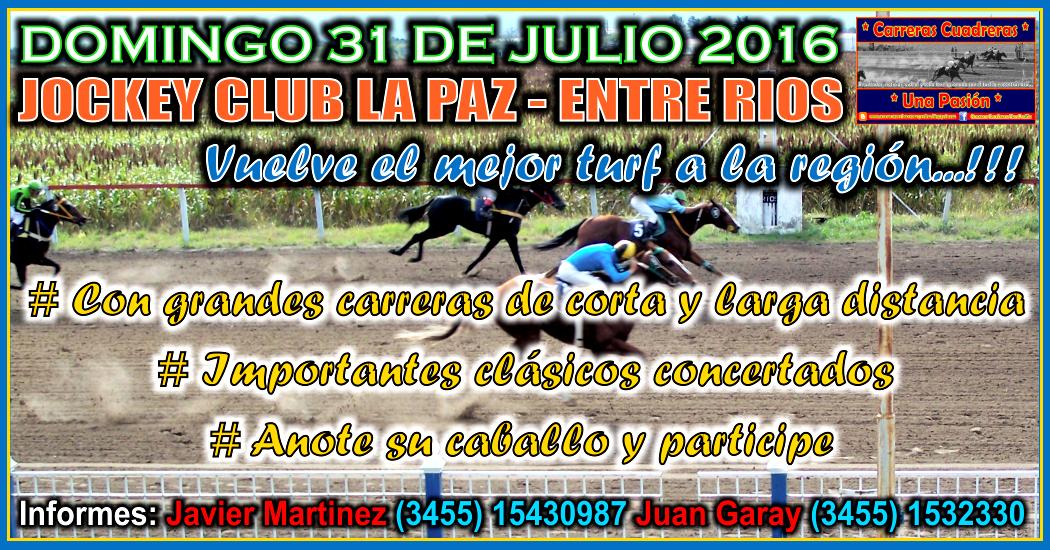 LA PAZ - 31.07.2016
