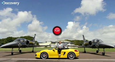 Yellow Porsche Boxster S