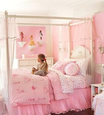Cuartos de ni a en rosa dormitorios con estilo - Imagenes de habitaciones de nina ...