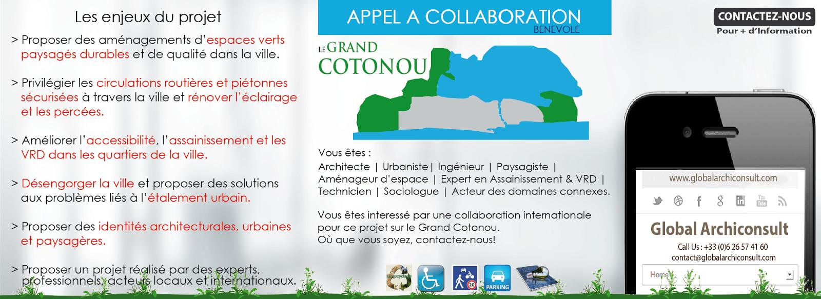 Le grand cotonou un projet de charte architecturale for Global espaces verts