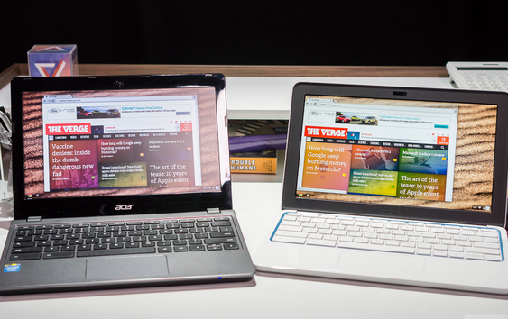 Acer C720 and HP 11-Inch Chromebooks