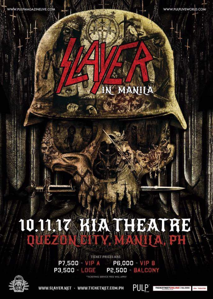 Slayer Live in Manila