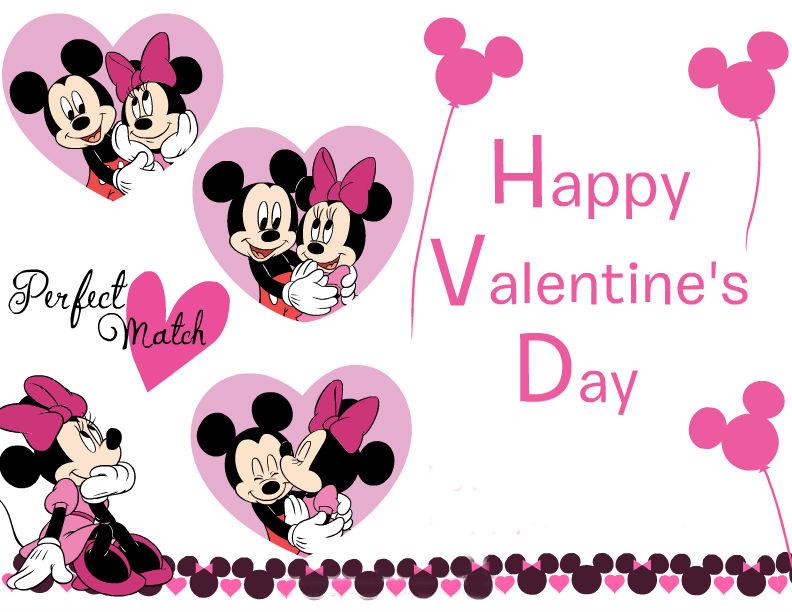 Valentine Cards: Disney Cards