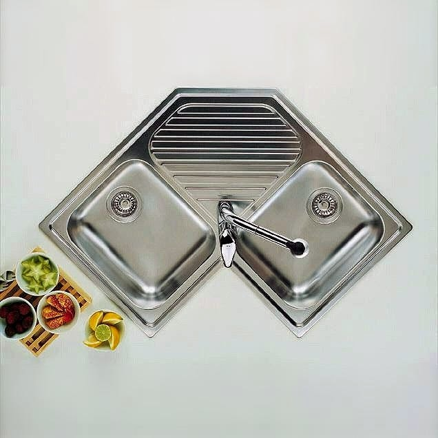 commercial stainless steel sinks - 12 models