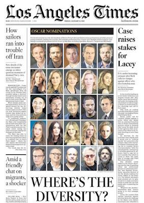 """Página de """"Los Ángeles Times"""" sobre la polémica"""