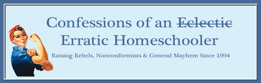 Confessions of an Erratic Homeschooling Mom