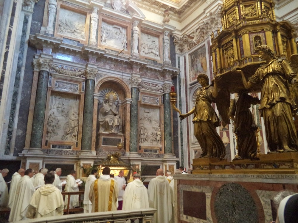 Santa Maria Maggiore Rome Mass