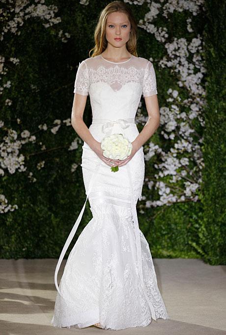 Carolina Herrera Spring 2012 Bridal Collection