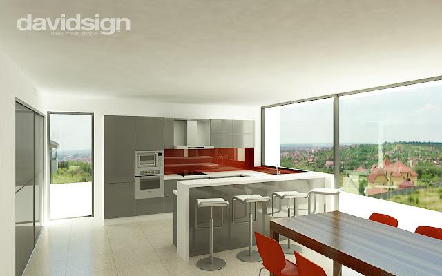 design bucatarie