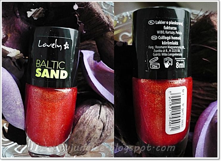 Beauty Jungle Czerwona Bombka Na Paznokciach Wibo Lovely Baltic Sand