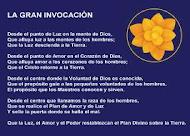 LA GRAN INVOCACION