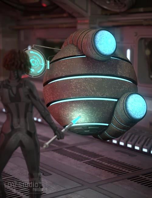 DAZ 3D - Module Alien