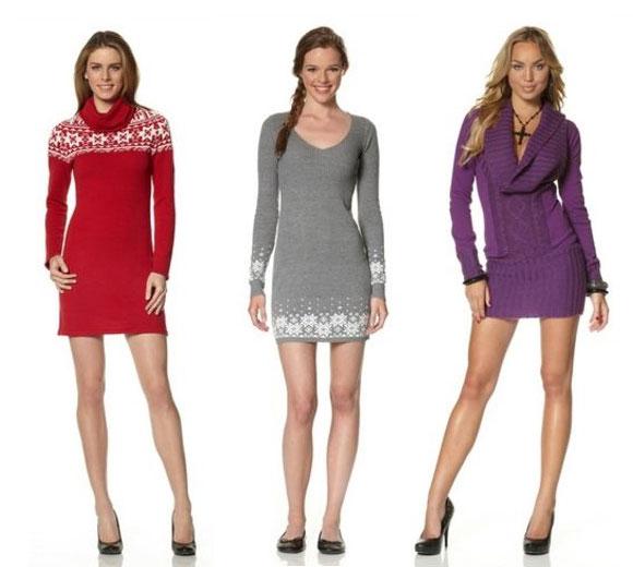 Модні сукні зима