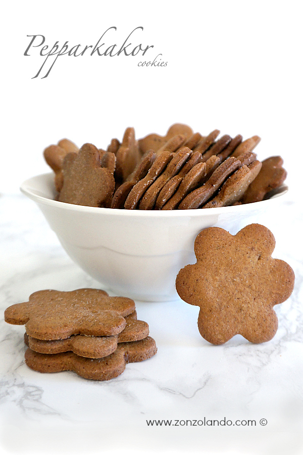 Come preparare in casa i biscotti dell'ikea pepparkakor allo zenzero ricetta swedish spicy cookies recipe