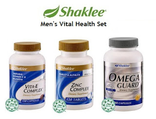 Shaklee Penang; Shaklee kl; Shaklee for men; men's health; Vitamin E; Zinc; Omega