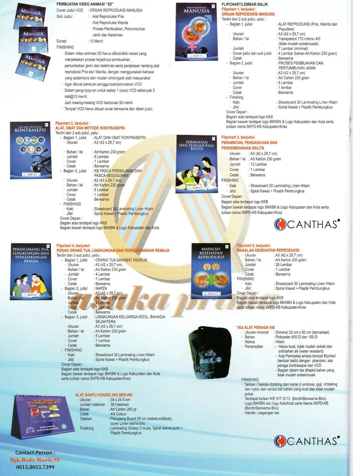 KIE Kit, kie kit dakbkkbn, DAK BKKBN 2013, Phantom Alat Peraga, Konseling KB, Keluarga Berencana, Alkes,