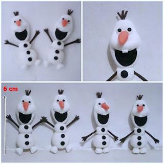 Aplique Olaf