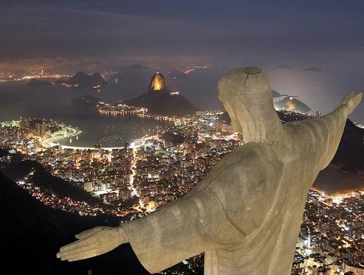Статуя Иисуса Христа. Бразилия
