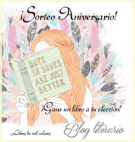 ¡Sorteo 4to Aniversario del blog!