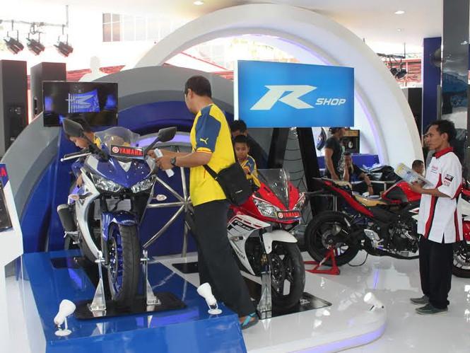 Yamaha Ikut Serta IIMS - Bisa Test Ride