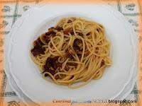 Spaghetti alla carrettiera con funghi porcini e tonno