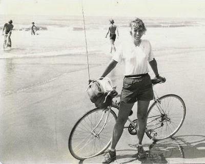 bicycle at Atlantic Ocean
