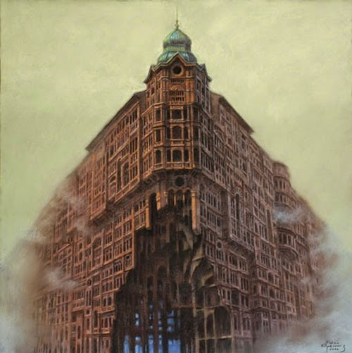 24-Scream-Marcin-Kołpanowicz-Painting-Architecture-in-Surreal-Worlds-www-designstack-co