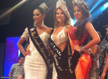 Miss Ecuador Universe Universo 2013 Constanza Baez Jalil