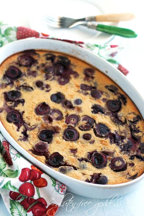 Gluten Free Clafoutis recipe
