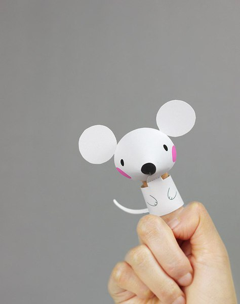 Divertidos titeres de papel para hacer con los ni os for Papel decomural para ninos