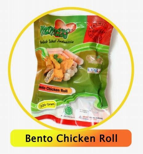 Nugget Ayam Tahu: Nugget Sehat Bento Chicken Roll