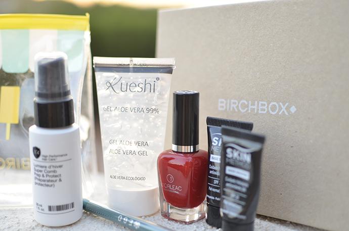 birchbox de agosto